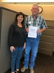 TPG Landfill Employee passes the exam for Certified Solid Waste Operators.