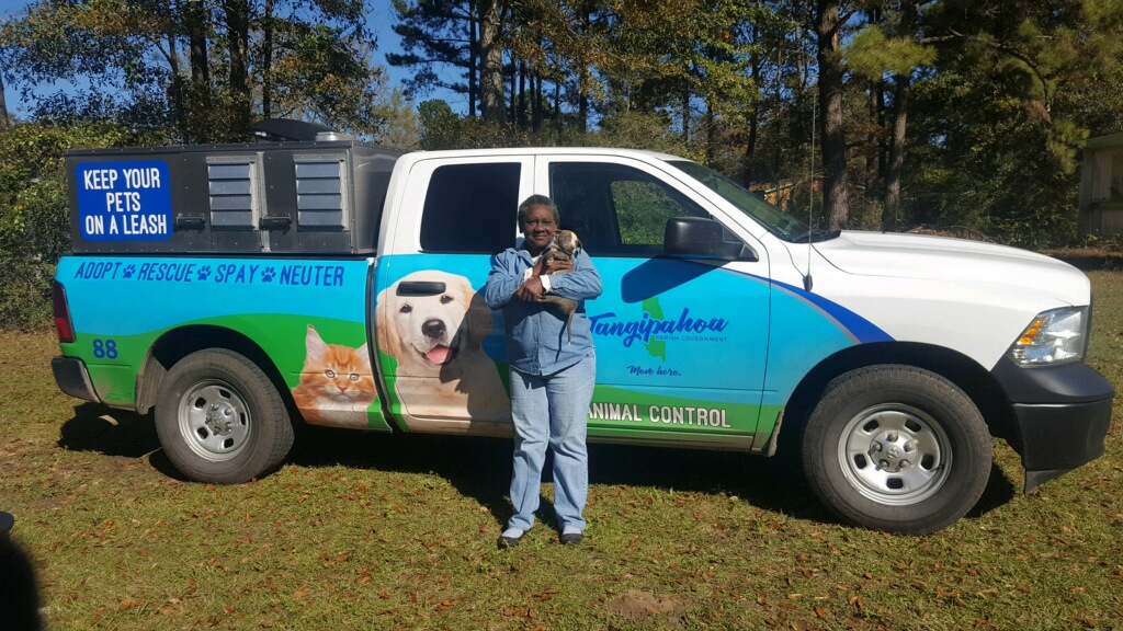TPG Animal Services rescued puppy