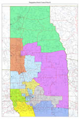 GIS map of Tangipahoa Parish