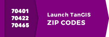 Launch TanGIS ZIP Codes